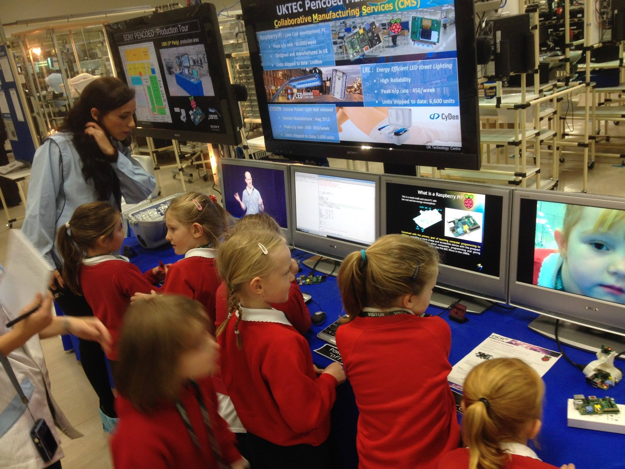 Raspberry Pi - The Girls Takeover the Pi Shop (in pictures